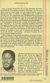 Les Fiancailles ; J'Ai Mission De Mourir - 4ème de couverture - Format classique