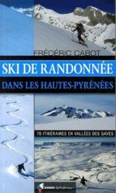 Ski de randonnée dans les Hautes-Pyrénées - Couverture - Format classique