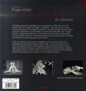 L'Erotisme En Photos - 4ème de couverture - Format classique
