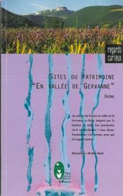 Sites du patrimoine en Vallée de Gervanne ; Drôme - Couverture - Format classique