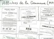 Affiche Contenent Des Affiches De La Commune De Paris. Mai. - Couverture - Format classique