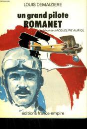 Un Grand Pilote Romanet. - Couverture - Format classique