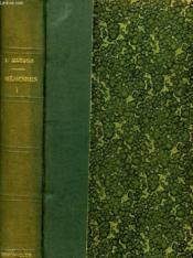 Memoires I. - Couverture - Format classique