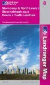 Stornoway-North Lewis 1/50 000 - Couverture - Format classique