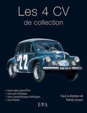 Les 4 cv de collection - Couverture - Format classique