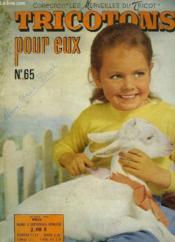 Tricotons Pour Eux - N°65 - Couverture - Format classique