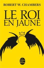 Le roi en jaune - Couverture - Format classique