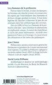 Les chamanes de la préhistoire ; texte intégral, polémiques et reponses - 4ème de couverture - Format classique