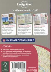 Paris en quelques jours (4e édition) - 4ème de couverture - Format classique