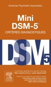 Mini DSM-5 ; critères diagnostiques - Couverture - Format classique