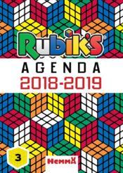 Rubik's agenda scolaire (édition 2018/2019) - Couverture - Format classique