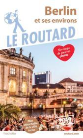 Guide du Routard ; Berlin (édition 2019) - Couverture - Format classique