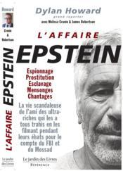 L'affaire Epstein - Couverture - Format classique