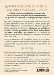 L'oracle des femmes médecine (coffret) - 4ème de couverture - Format classique