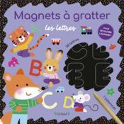 Magnets à gratter : les lettres - Couverture - Format classique