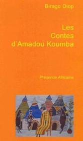 Les contes d'amadou koumba - Couverture - Format classique