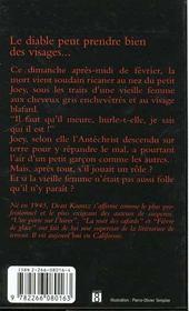 L'Heure Des Chauves Souris - 4ème de couverture - Format classique