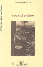 Second Poeme - Couverture - Format classique
