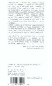 Le Mystere Du Hansom Cab - 4ème de couverture - Format classique