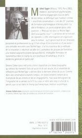 RENCONTRE AVEC ; Michel Sapir ; le corps en relation - 4ème de couverture - Format classique