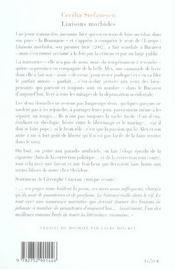 Liaisons Morbides - 4ème de couverture - Format classique