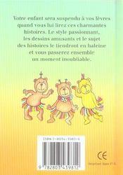 Jolies Histoires Au Bois Des Ours - 4ème de couverture - Format classique