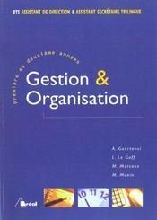 Gestion et organisation - Intérieur - Format classique