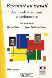 Pérennité au travail ; âge, bouleversements et performance - Intérieur - Format classique