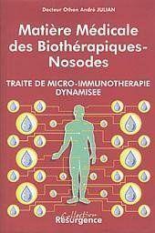 Matiere medicale biotherapiques-nosodes - Couverture - Format classique