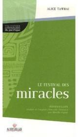 Le festival des miracles - Couverture - Format classique