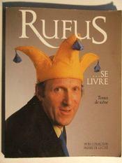 Rufus Se Livre - Intérieur - Format classique