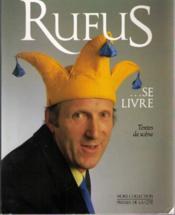 Rufus Se Livre - Couverture - Format classique