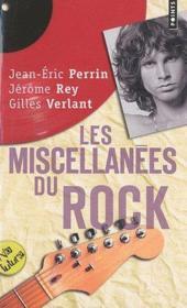Les miscellanées du rock - Couverture - Format classique