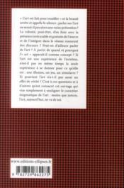 L'art (édition 2011) - 4ème de couverture - Format classique