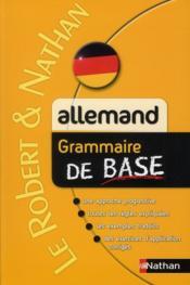 telecharger Allemand – grammaire de base livre PDF/ePUB en ligne gratuit