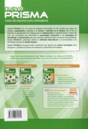 Nuevo prisma C1; libro del alumno - 4ème de couverture - Format classique