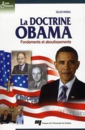 La doctrine Obama - Couverture - Format classique