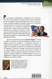 La doctrine Obama - 4ème de couverture - Format classique