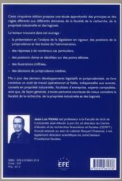 Fiscalité de la recherche, de la propriété industrielle et des logiciels (5e édition) - 4ème de couverture - Format classique