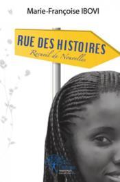 Rue Des Histoires - Couverture - Format classique
