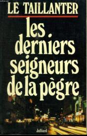 Dern.Seigneurs De La Pegre - Couverture - Format classique