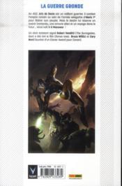 X-O Manowar T.1 ; l'armure de Shanhara - 4ème de couverture - Format classique
