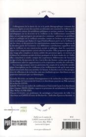 Vieillesses et vieillissements ; regards sociologiques - 4ème de couverture - Format classique