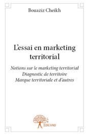 L'essai en marketing territorial - Couverture - Format classique