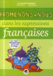 Promenons-nous dans les expressions françaises - Couverture - Format classique
