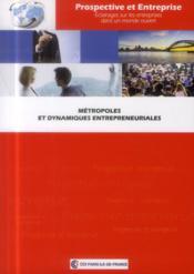 Métropoles et dynamiques entrepreneuriales - Couverture - Format classique