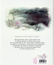 Jasmine ; le concours de flaques d'eau - 4ème de couverture - Format classique