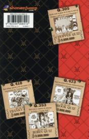 One Piece ; quiz book t.1 - 4ème de couverture - Format classique