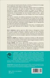 Leadership en action ; leadership in action - 4ème de couverture - Format classique