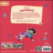 Vive le carnaval ! - 4ème de couverture - Format classique